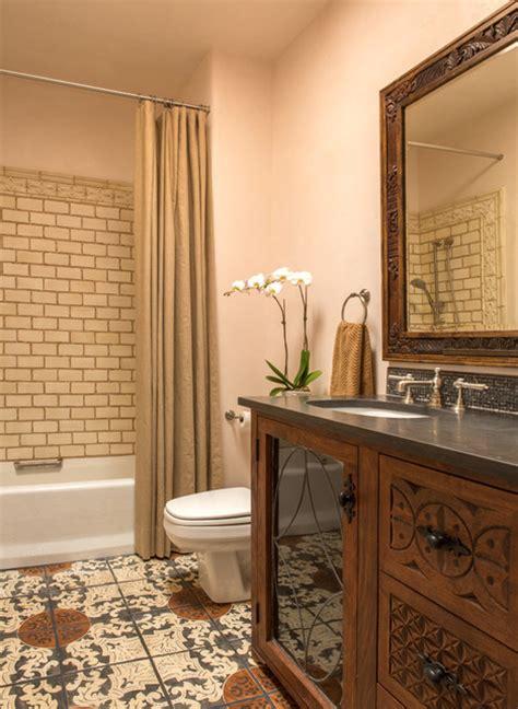 rustic elegance santa fe nm traditional bathroom