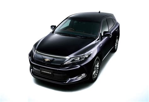 2015 toyota harrier 2015 toyota harrier autos weblog