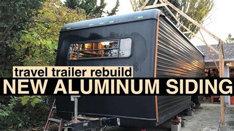 aluminum  fiberglass rv siding youtube