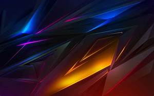 2560x1080, Abstract, Dark, Colorful, Digital, Art, 2560x1080