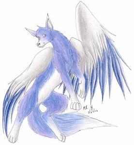 Winged Wolf by purplelemon on DeviantArt