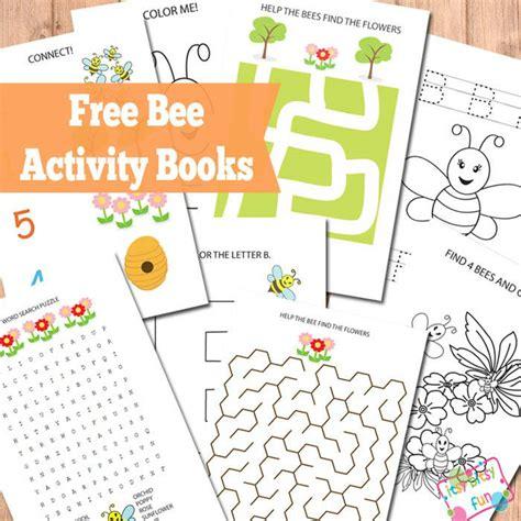 free bee activity books free homeschool deals