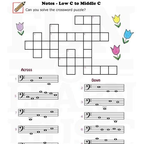 music worksheets notes bassclef lc mc 004 teaching stuff