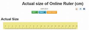 5 11 In Cm : online ruler actual size inch cm and draggable 2018 updated ~ Dailycaller-alerts.com Idées de Décoration