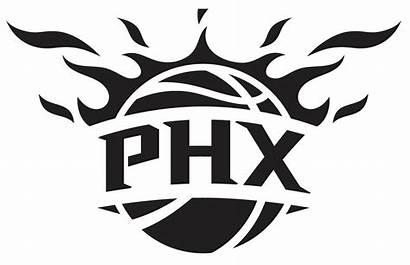Suns Phoenix Basketball Nba Graphic Decal Vinyl