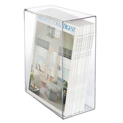 plastic magazine holders acrylic magazine slipcase the container 1545