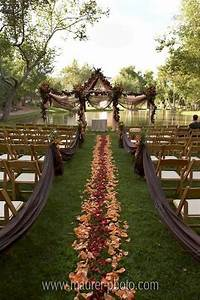 36 amazing fall outdoor wedding ideas on a budget With outdoor fall wedding ideas