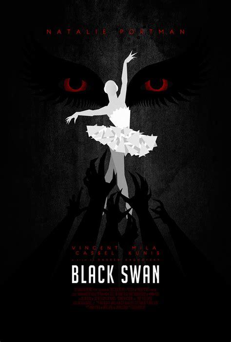 Alternative movie poster for Black Swan by Dr. Mierzwiak