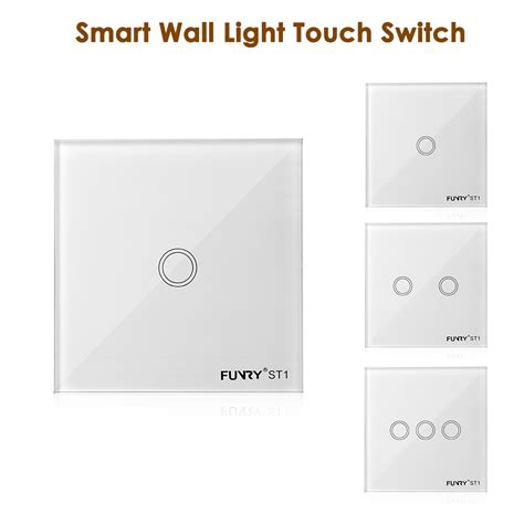 funry smart touch home wall light l switch