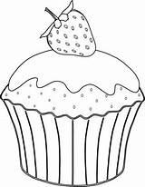 Muffin Coloring Cupcakes Cupcake Colorare Cup Cake Disegni Printable Dessin Ausmalbild Supercoloring Cakes Drawing Immagini Ausmalbilder Riscos Erdbeere Coloriage Drawings sketch template