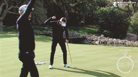 4人のプロゴルファーが協力して500ヤードのロングホールを34秒でホールアウトしギネス認定 Dna
