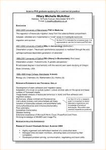 resume objective statement for phd application resume exles phd application