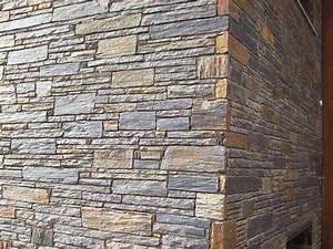 parement en ardoise decoratif par cote deco With mur en ardoise interieur