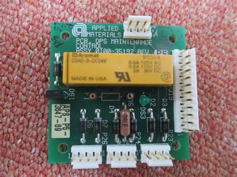 Assembly, Pcb, Dps Maintenance Control(010035192) Parts