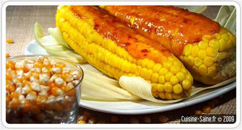 mais cuisine recette bio épis de maïs à la crème de soja