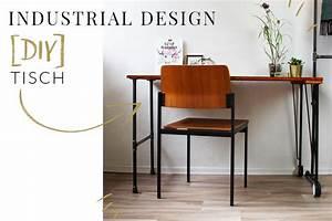 Industrial Möbel Selber Bauen : industrial design tisch mit rohren einfach selber bauen ~ Michelbontemps.com Haus und Dekorationen