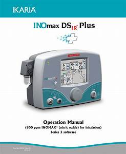 Inomaxds Ir Plus Operation Manual Rev 03 July 2014 Pdf