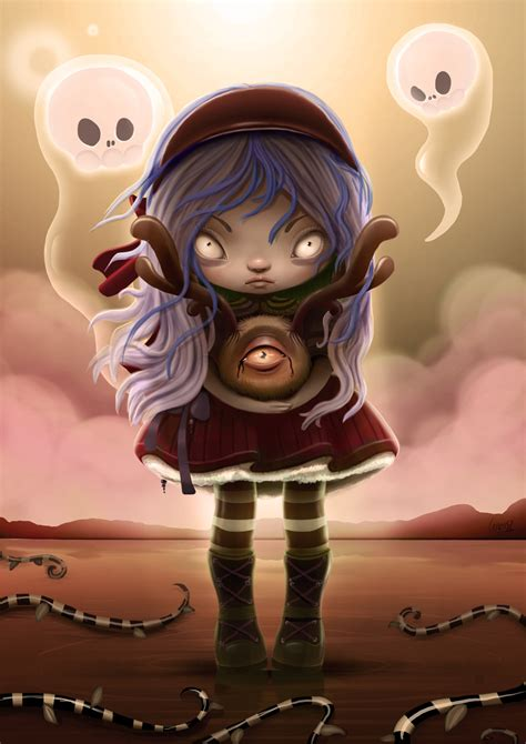 Create a Cute and Scary Children's Illustration in ...
