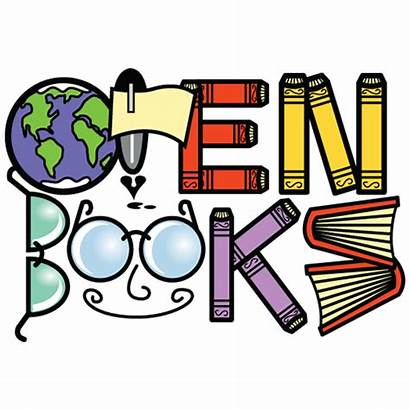 Books Clipart Open Donate Clip Donations Drive
