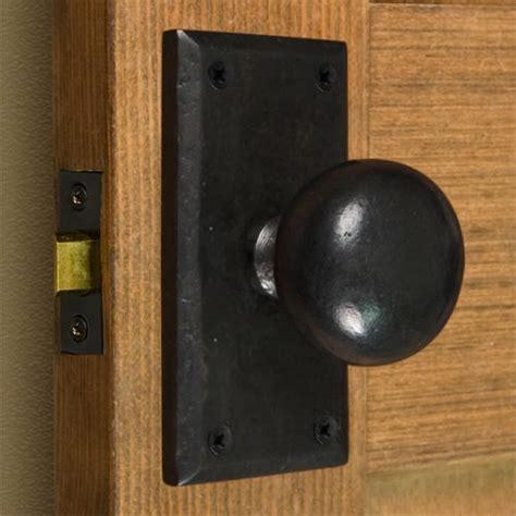 bedroom door knobs marwick rectangular solid bronze knob set privacy