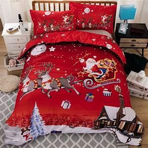 King Size Bettwäsche : buy christmas duvet cover 3ddigital printing bedding sets comforter bedsheet ~ Watch28wear.com Haus und Dekorationen