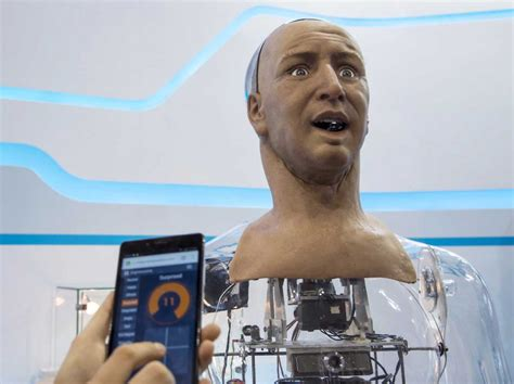 This Humanoid Robot Can Recognize And Interact With People