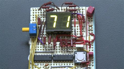 digits presettable count  circuit youtube