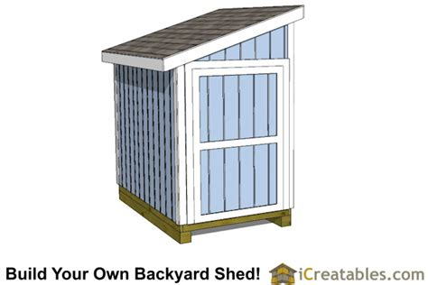8 x 5 shed 5x8 lean to shed plans icreatables sheds