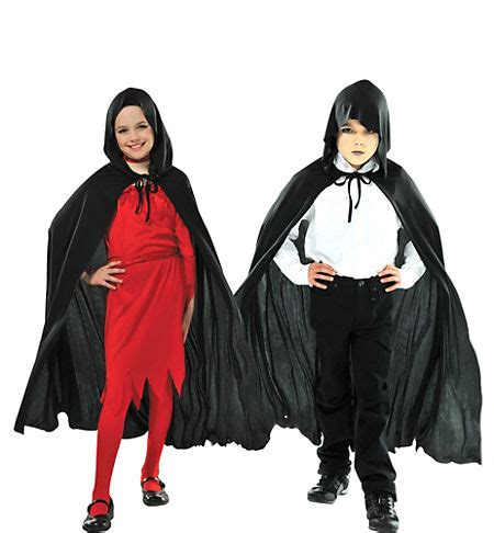 Child Black Cape  Party City