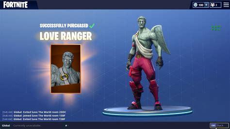 winter themed version   love ranger skin