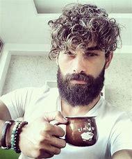 Curly Beard Styles