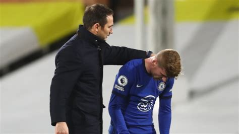 Timo Werner: Frank Lampard reveals plans to revive Chelsea ...