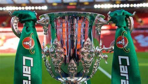 Carabao Cup Semi Final Draw / Carabao Cup semi-final draw ...
