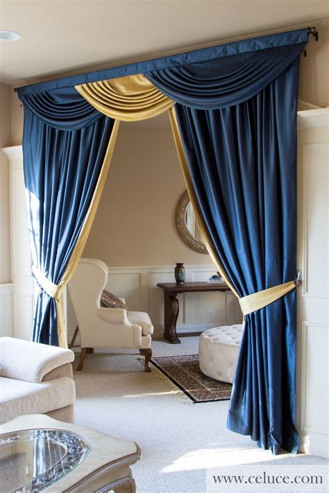 Blue Valances For Living Room by Curtains Swag Curtains For Living Room