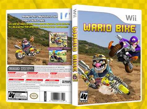 Wario Bike Wii Box Art Cover By Roncarvajal