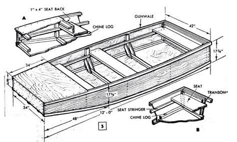 Boat Workshop Plans by Portable Plywood Boat Plan Workshop Bote