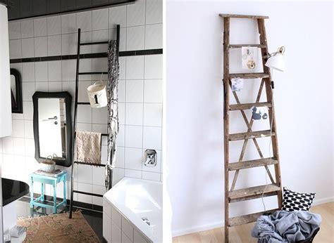 Badezimmer Deko Alt by Leiterregal 187 So Wird Deine Alte Holzleiter Zum Eyecatcher