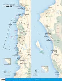 Pacific Coast Highway California Map