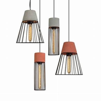 Pendant Modern Lamp Concrete Hanging Lights Bar