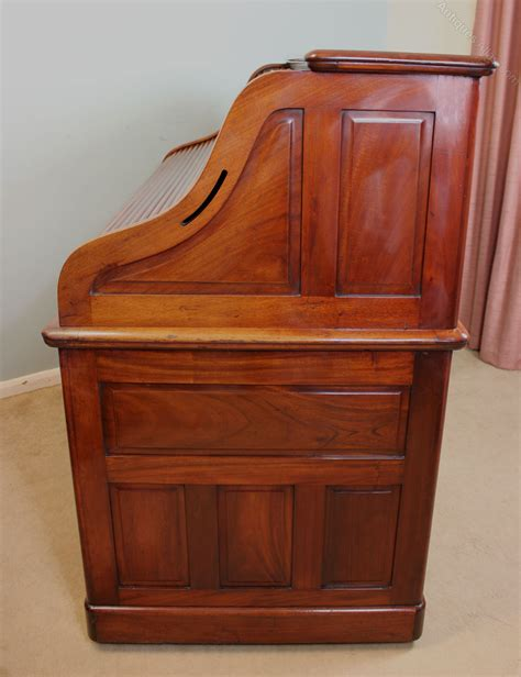 antique mahogany roll top desk antique mahogany roll top desk antiques atlas