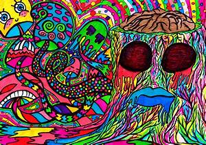 Shrooms' brain by psychedelic-hipster on DeviantArt