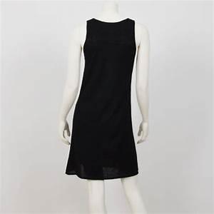 robe debardeur noire en cachemire muskhane debardo With robe en cachemire