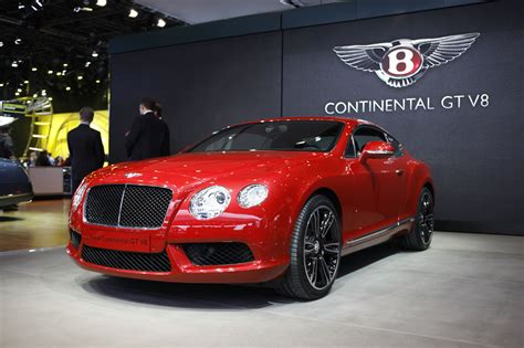 Bentley Continental Gt V8 Brings The Motor To Motor City