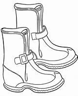 Boots Coloring Pages Winter Snow Spur Drawing Ugg Printable Rain Boot Raincoat Azcoloring Cartoon Cowboy Handbags Sheepskin Christmas Coloringkidz Cheap sketch template