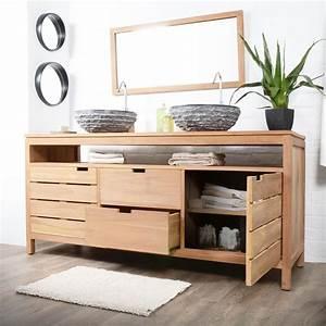 le meuble lavabo pour la salle de bain meubles designorg With salle de bain design avec meuble rangement salle de bain