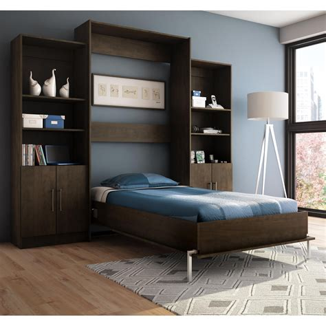 stellar home furniture milo wall bed  storage units