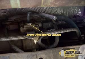 F250 Diesel Fuel Filter Location