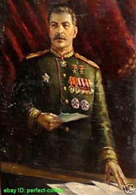 art oil painting repro portrait  josef stalin