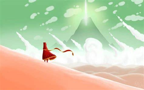 fantasy art red dress video games journey game