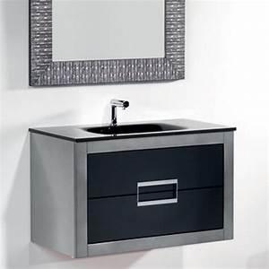 Danya silver leather modern bathroom vanity 32 inch for Bathroom caninets